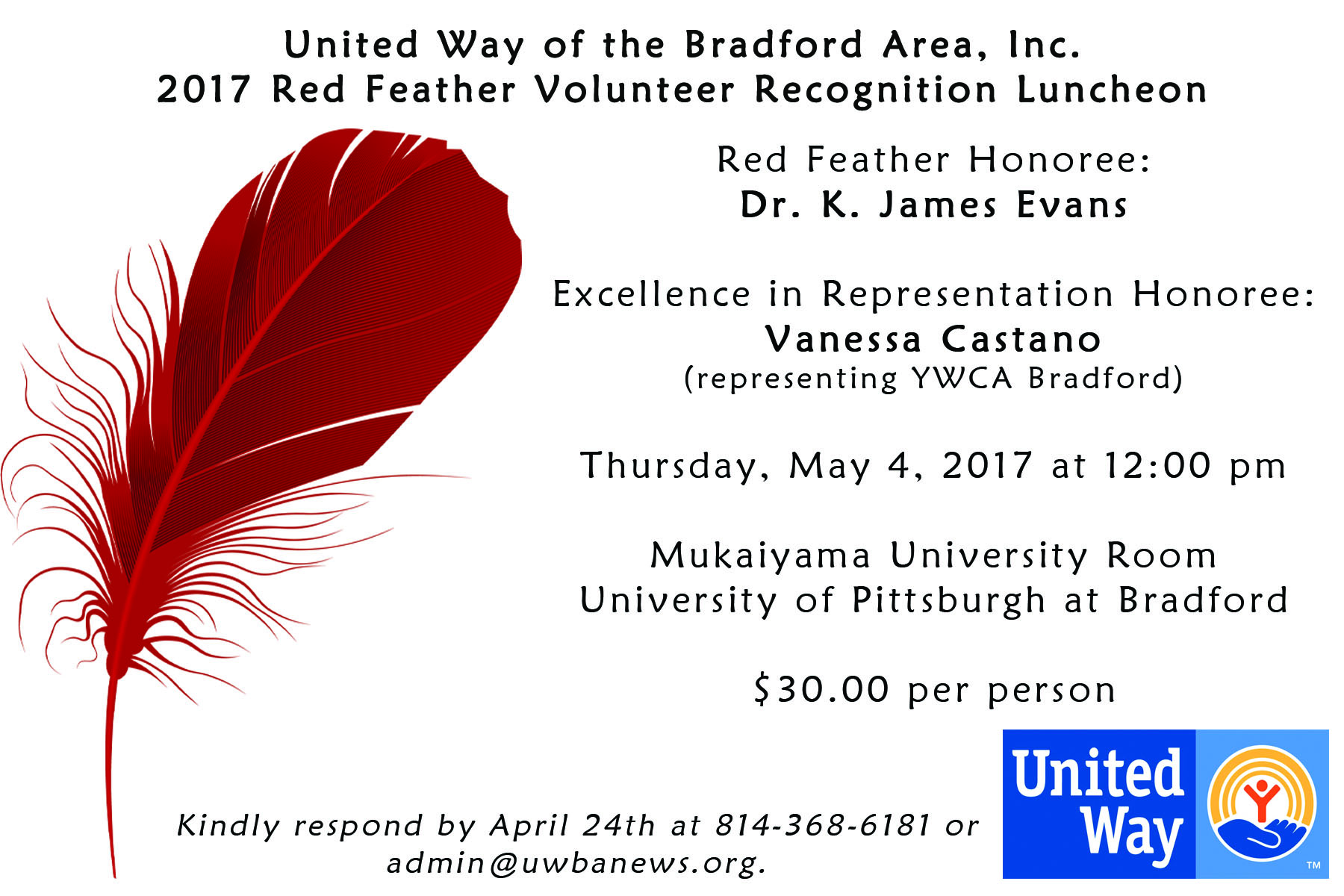 2017 Red Feather Luncheon