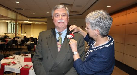 Dr. Jim Evans To Receive Red Feather Award